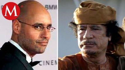 Reaparece hijo de Muamar Gadafi; quiere ser presidente