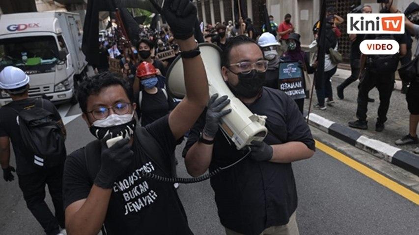 [Siaran semula] Ratusan sertai protes #Lawan tuntut PM letak jawatan