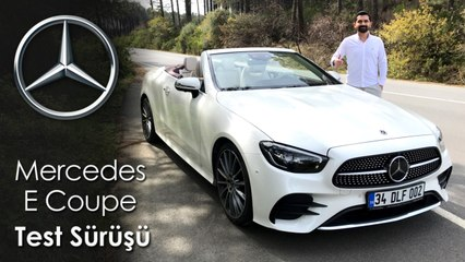 Mercedes E Coupe Test Sürüşü