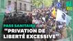 Pass sanitaire: 237.000 manifestants partout en France, très encadrés par la police