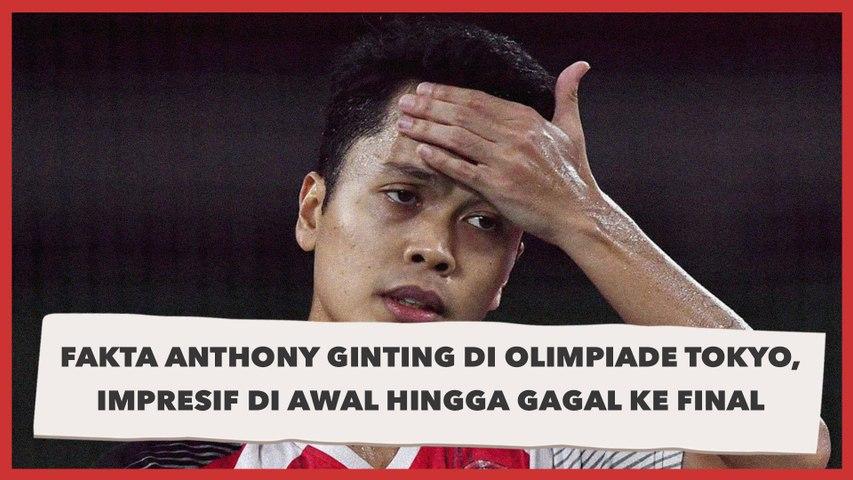 Fakta Anthony Ginting di Olimpiade Tokyo, Impresif di Awal hingga Gagal ke Final