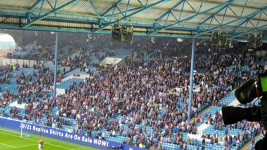 Incredible Hi Ho Silver Lining as Sheffield Wednesday fans return to Hillsborough for the first time