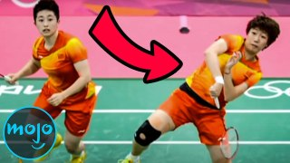 Top 10 Times Olympic Athletes Cheated