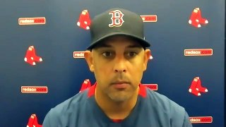 Alex Cora on getting SWEPT   Postgame Press Conference Red Sox vs Rays 8-1