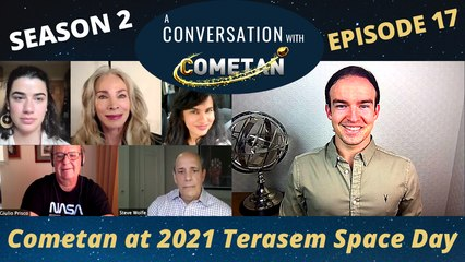 A Conversation with Cometan | Season 2 Episode 17 | Cometan at the 2021 Terasem Space Day