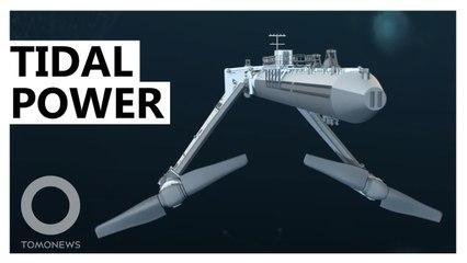 造能超越太陽能 世上最強潮汐能渦輪發電機