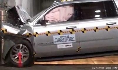VÍDEO: ¿Más grande más resistente? Así se deforma el Chevrolet Suburban en un accidente