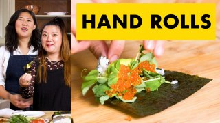 How To Make Hand Rolls