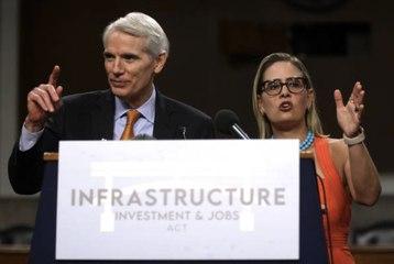 Senate Reaches Bipartisan Agreement on $1 Trillion Infrastructure Bill