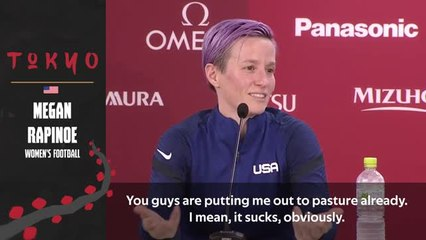 Rapinoe in no rush to decide her future after Olympic disappointment