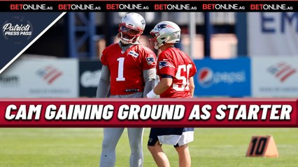 Cam Newton GAINING Ground as Patriots STARTER
