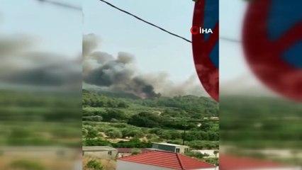 - Rodos Adası orman yangını nedeniyle elektriksiz ve susuz kaldı