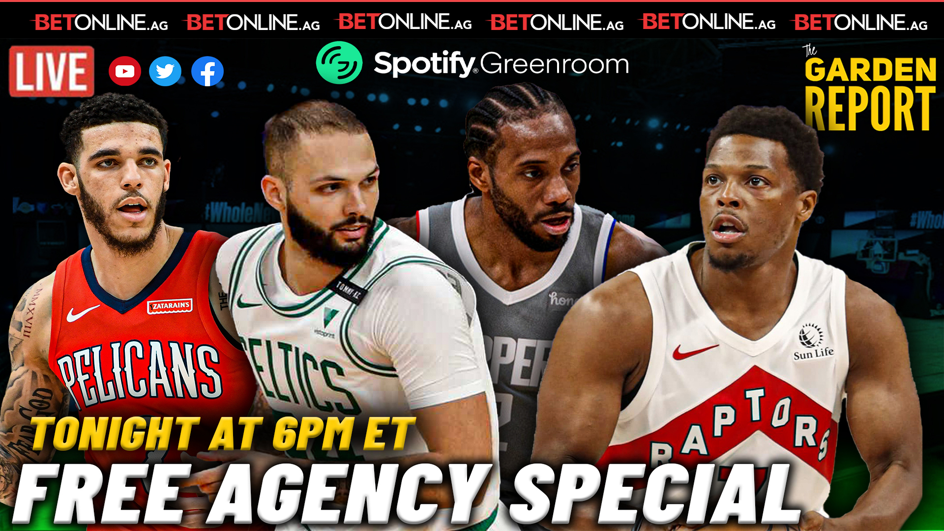 NBA Free Agency Special | Garden Report