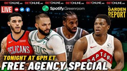 NBA Free Agency Special   Garden Report