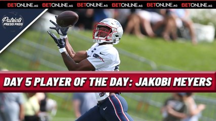 Day 5 PLAYER OF THE DAY: WR Jakobi Meyers
