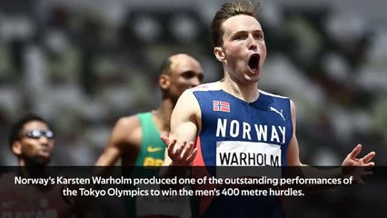 Warholm lands Olympic gold in new world record