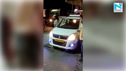 Lucknow Woman 'assaults' cab driver over 'rash driving', booked