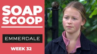Emmerdale Soap Scoop! Liv is kicked out by Aaron
