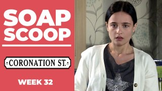 Coronation Street Soap Scoop! Alina discovers the truth