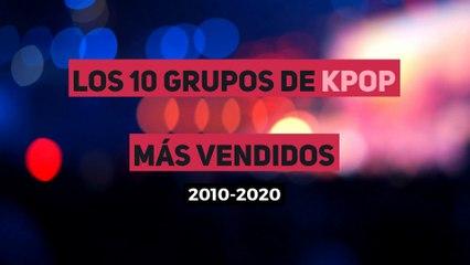 Los 10 grupos de KPop más vendidos