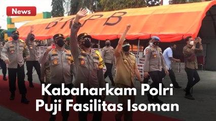 TUAI PUJIAN DARI KABAHARKAM POLRI !! INTIP FASILITAS ISOLASI MANDIRI DI PEKANBARU !!!