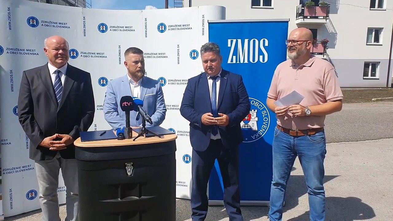 ZÁZNAM: ZMOS a ŠRFB budú spolupracovať na podpore výstavby nájomných bytov