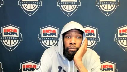Kevin Durant on ADVANCING to Semi-Finals  USA vs Spain Postgame Interview 8-3