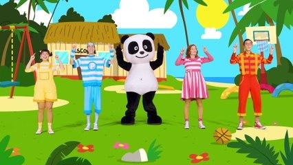 Panda e Os Caricas - Dançar Com O Corpo Humano