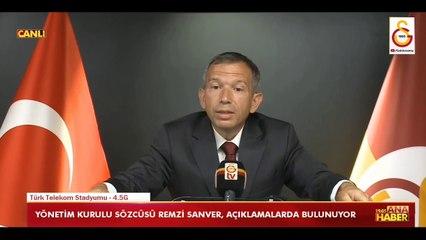 Galatasaray'dan Akit'e zehir zemberek sözler
