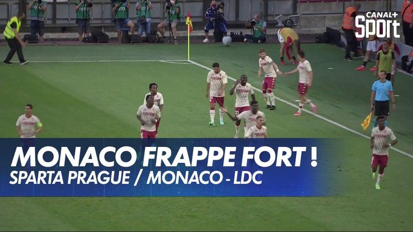3e tour préliminaire aller : le résumé vidéo de Sparta Prague - AS Monaco