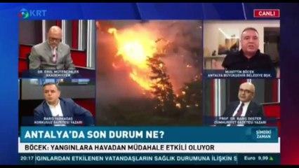 Canlı yayında helikopter iddiası