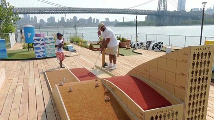 New NYC Mini Golf Course Teaches Climate Change