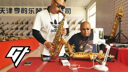 Tiny Village of 2,000 Makes 80% of China's Saxophones