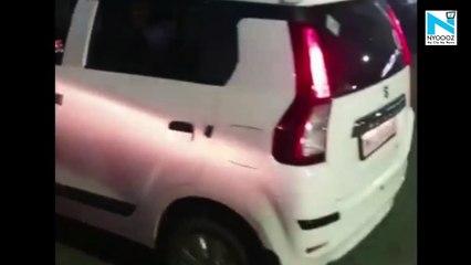 Watch, Drunk girl sleeps on road in Pune, blocks traffic