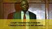 Court terminates forgery charges against ex-MP Jirongo