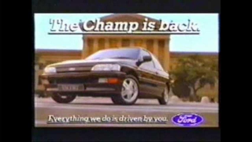 VÍDEO: El espectacular spot del Ford Escort RS 2000 con la música de Rocky