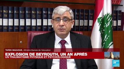 Explosion de Beyrouth, un an après : un traumatisme physique et psychologique, notamment chez les enfants