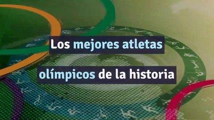 Los mejores atletas olímpicos de la historia