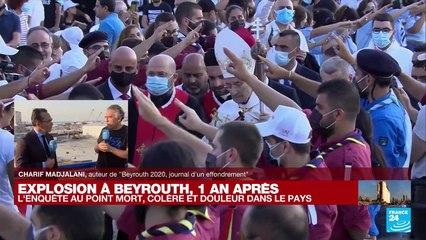 """Explosion à Beyrouth, un an après : """"Tout le monde veut en finir avec ce système mafieux"""""""