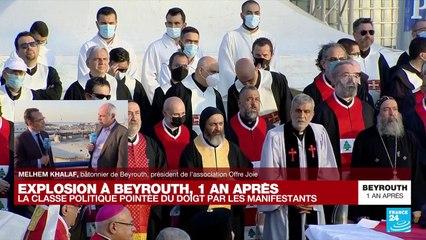 """Explosion à Beyrouth, un an après : dans l'enquête, """"on sent qu'il y a une réticence à deux niveaux"""""""