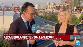 Explosion à Beyrouth, un an après :