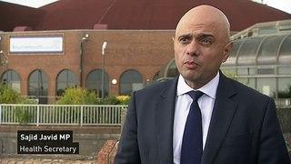 Javid asks NHS to prepare to begin vaccinating teens