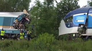 Dois mortos em acidente ferroviário na Chéquia