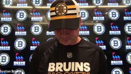 Bruins Director of Player Development Jamie Langenbrunner Interview   Bruins Development Camp 8-3