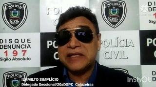 Suspeito de arrombar loja no centro de Cajazeiras durante a madrugada é preso em operação da PC