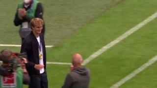Zverev celebrates Olympic tennis gold with Bayern Munich