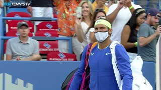 Nadal made to sweat for comeback win by Sock