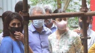 Boyfriend Ranbir Kapoor की माँ Neetu Kapoor से मिली Alia Bhatt हुआ ये, Check Out | FilmiBeat