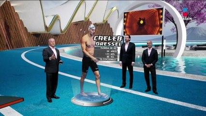 Caeleb Dressel: ¿por qué es el atleta del día?