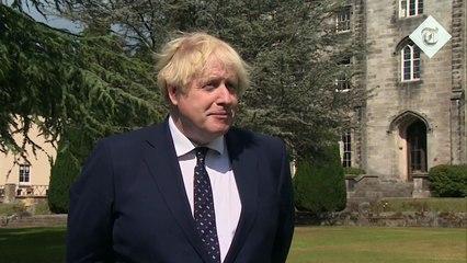 Boris Johnson insists he hasn't snubbed Nicola Sturgeon after declining to meet in Scotland